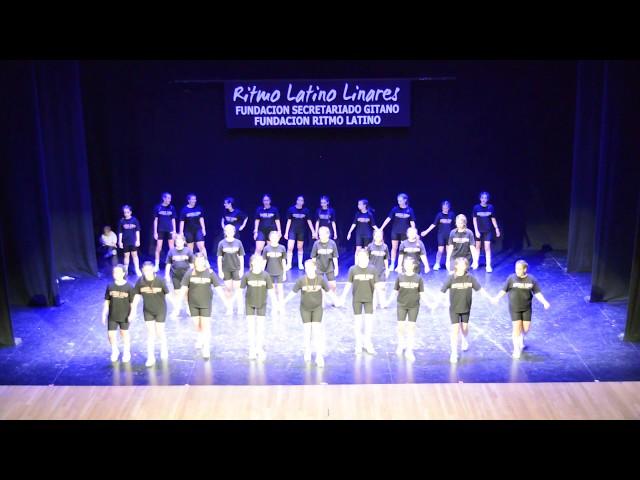 RITMO LATINO LINARES. XII GALA CERVANTES 2019. HIP HOP MAYORES