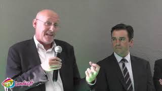 180901 Discours Bernard Laporte St Sever Le rugby sport dangereux