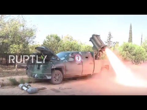 Syria: SAA unleash rocket bombardment against militants in W. Aleppo