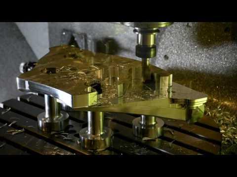 Space Station Docking Ring - Mastercam 2018