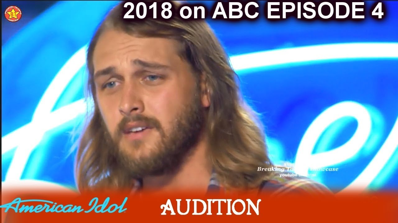 Brandon Elder TOUCHING Original Song Written For Mom Who Died of Cancer  American Idol 2018 Episode 4