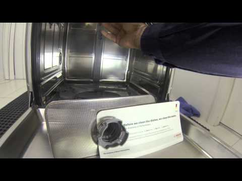 Bosch Dishwasher Repair & Maintenance Tutorial 1