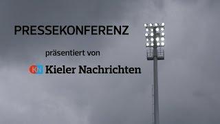 Pressekonferenz Holstein Kiel - SV Wehen Wiesbaden