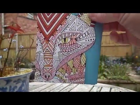 How to make a paper seed packet.