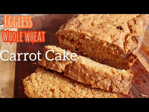 Whole Wheat Carrot Cake || No egg || No Maida || Great aroma of spices |Best ever carrot cake recipe