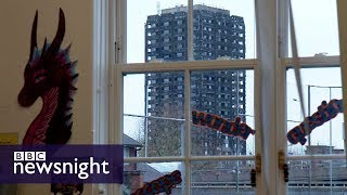 The school in the shadow of Grenfell - BBC Newsnight