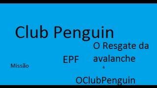 o resgate da avalanche club penguin