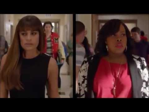 Glee Rachel and Mercedes return to...