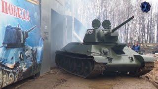Реставраторы  Танк Т 34 76  Часть 2