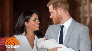 Vanity Fair Gives Look At Prince Harry, Meghan Markle's Life With Baby | TODAY