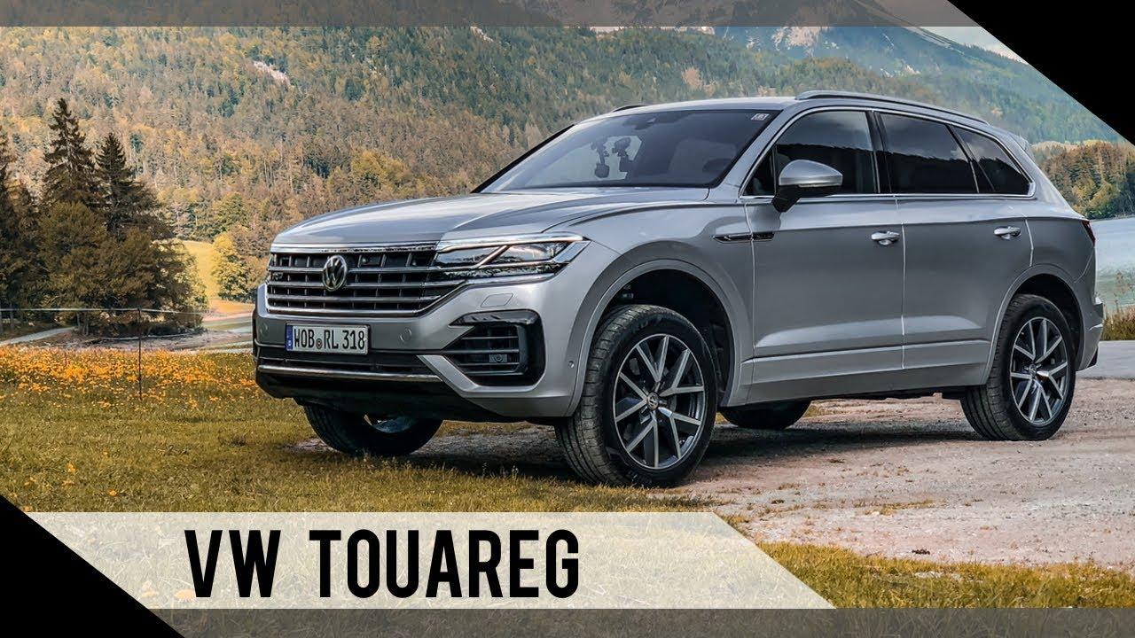 Volkswagen VW Touareg | 2018 | Test | Review | Fahrbericht | MotorWoche - YouTube