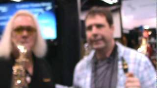 Mark Overton of Saxquest at NAMM