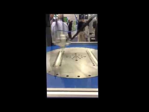 Yaskawa high-speed pick and place demonstration