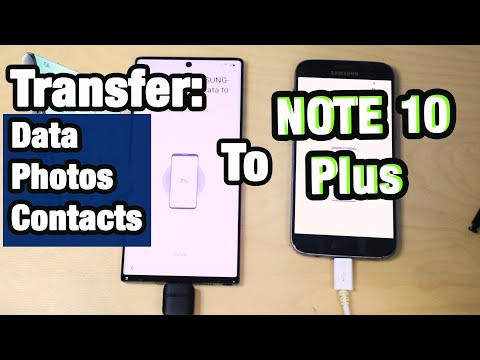 How To Transfer Data From Android Galaxy S7 S8 To Samsung Note 10 Plus