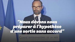 """Selon Édouard Philippe, un Brexit sans accord est """"toujours sur la table"""""""