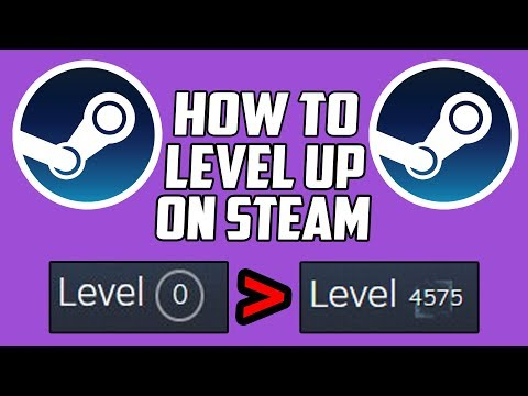 How To Level Up Steam Profile FREE! (Fast & EASY Badges) Account Tutorial