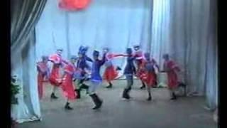 "танец ""Снежок"" ансамбль ""Талисман"""
