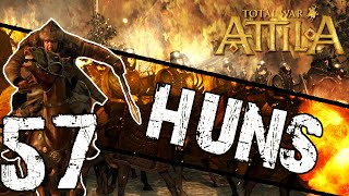 Total War: Attila - Huns Campaign #57 ~ 3 Point Takedown!