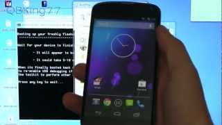 How to Unroot/Unbrick the Google Nexus 4