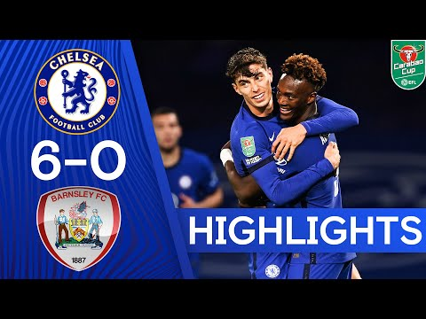 Chelsea 6-0 Barnsley | Havertz Hat-Trick and Silva Debut as Blues Hit 6! | Carabao Cup Highlights