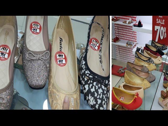 Bata Shoes Sale upto 70% off \u0026 new