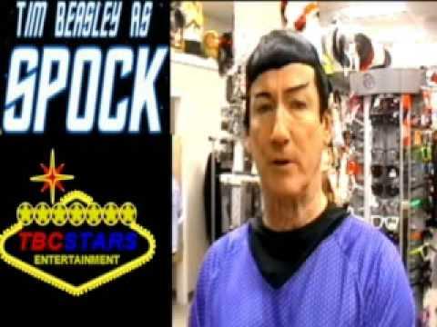 Mr Spock Star Trek - Leonard Nimoy Impersonator  Look Alike
