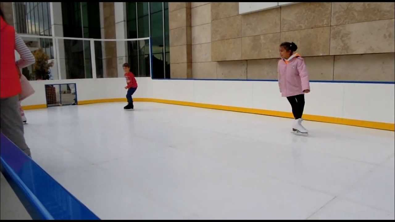 First Glice Synthetic Ice Rink In Turkey!
