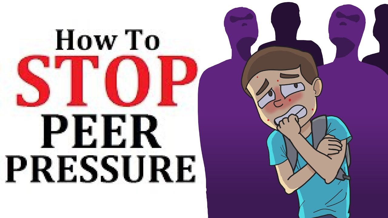 How to Avoid Peer Pressure