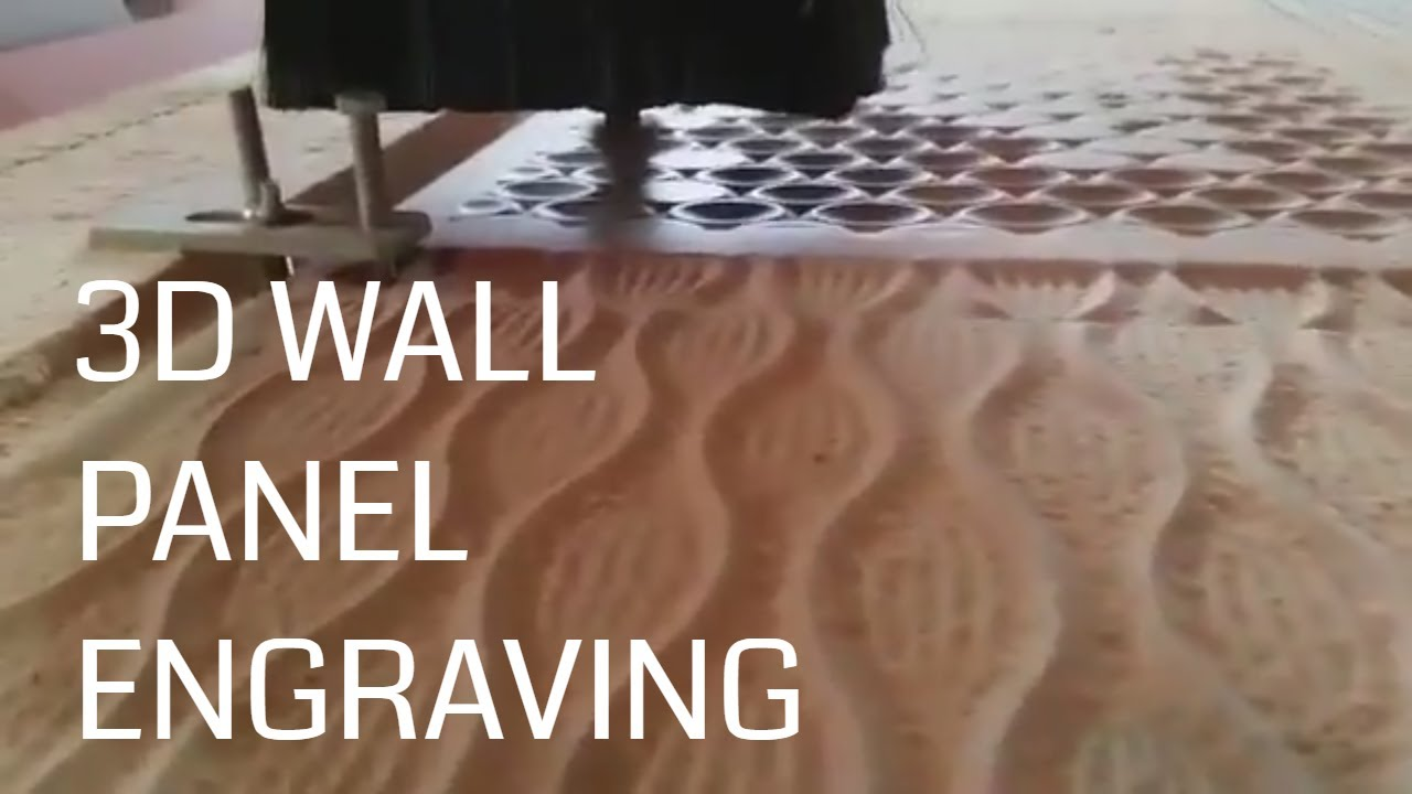 3d Wall Panel Wave Pattern Engraving Cnc Machine From Suresh In New Zealand