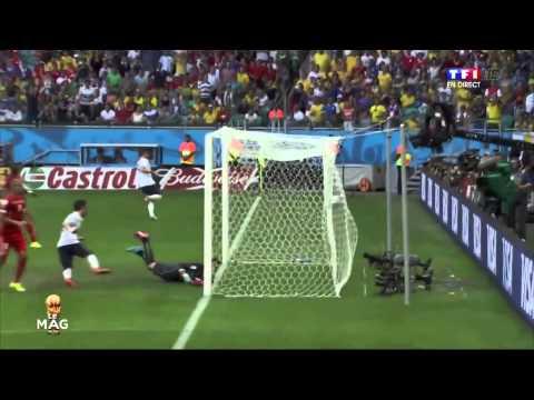 Coupe du Monde 20/06/2014 - France-Suisse 5-2 [son RMC]