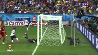 coupe du monde 20 06 2014 france suisse 5 2 son rmc