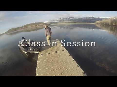 Twin Lake Idaho Bass Fishing