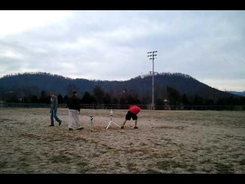Austin Hoyle's rocket (fail)