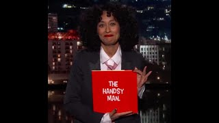 Tracee Ellis Ross Tackles Does a Live Reading of The Handsy Man