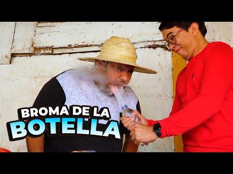 Agapito Diaz Y La Broma De La Botella (  The Bottle Prank Challenge )