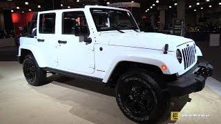 2015 Jeep Wrangler Altitude - Exterior and Interior Walkaround - 2015 New York Auto Show