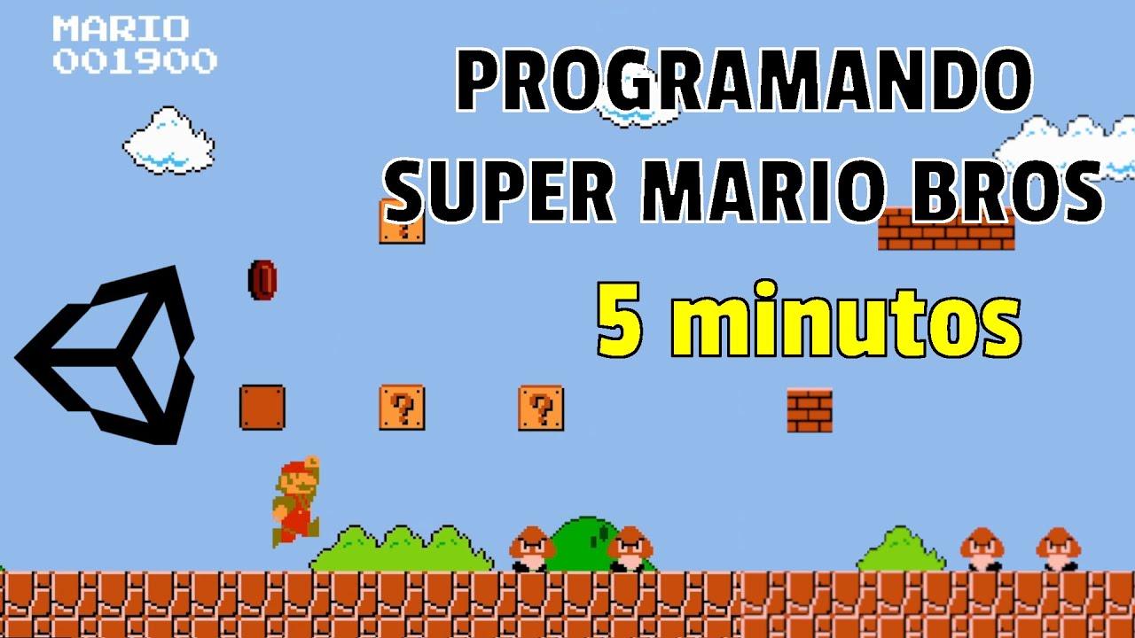 Creando Super Mario Bros en UNITY en 5 Minutos