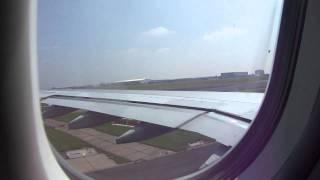 Opstijgen vliegtuig op naar New York