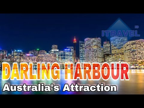 Darling Harbour - Australia's major tourist attraction