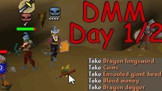 DMM Day 1/2 Hybrid PKing | 1m+ Loot | 20+ Keys