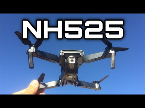 Neheme NH525 Foldable Wifi Beginner RC Quadcopter review and flights