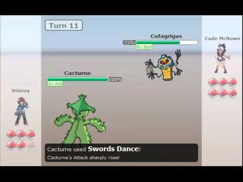 Pokemon Wifi Battle #4 Vs Cade McNown