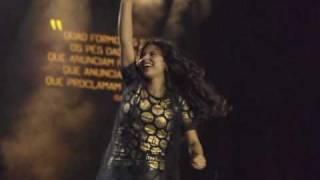 Aline Barros - Cubra-me - CD Caminho de Milagres - Fotos do DVD