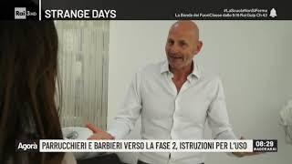 Parrucchieri e barbieri verso la fase 2, istruzioni per l'uso - Agorà 06/04/2020