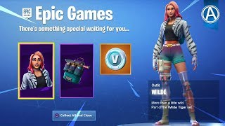"""NEW """"WILDE SKIN"""" STARTER PACK! Switching From PS4 To PC ► Day 9 (Fortnite Battle Royale LIVE)"""