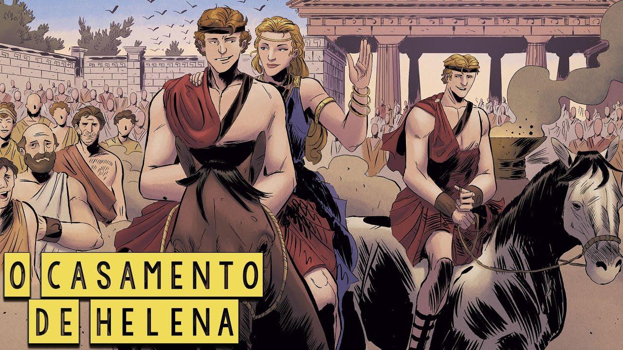 A Grande Aliança   O Casamento de Helena e Menelau - A Saga da Guerra de Tróia Ep.3  Mitologia Grega