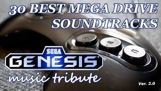 30 Best Mega Drive Soundtracks - Sega Genesis Music Tribute (Ver. 2.0)