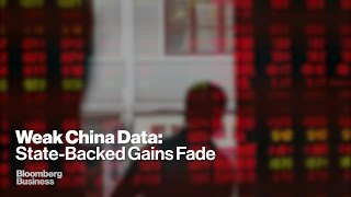 China Data Signals Further Decline in Growth Prospects