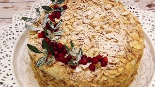 ВКУСНЕЙШИЙ ТОРТ НАПОЛЕОН!!! ***DELICIOUS NAPOLEON CAKE!!