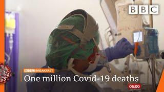 Global Covid deaths cross 'agonising' 1m milestone @BBC News LIVE on iPlayer 🔴 - BBC